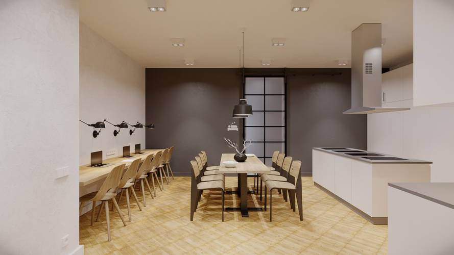 Kitchen area24|7 Europaplatz Next Opening October 2019 Karlsruhe