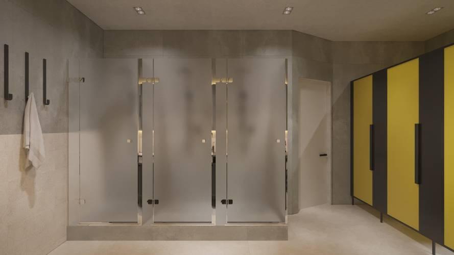 Bathrooms area24|7 Europaplatz Next Opening October 2019 Karlsruhe
