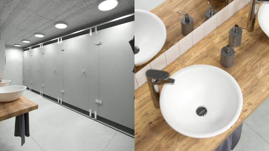 Bathrooms area 24|7 europlatz karlsruhe
